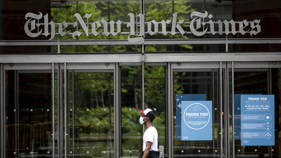 NYT newsroom 'more like North Korea every day': Ex-reporter who dropped N-bomb implies scandal linked to his union work