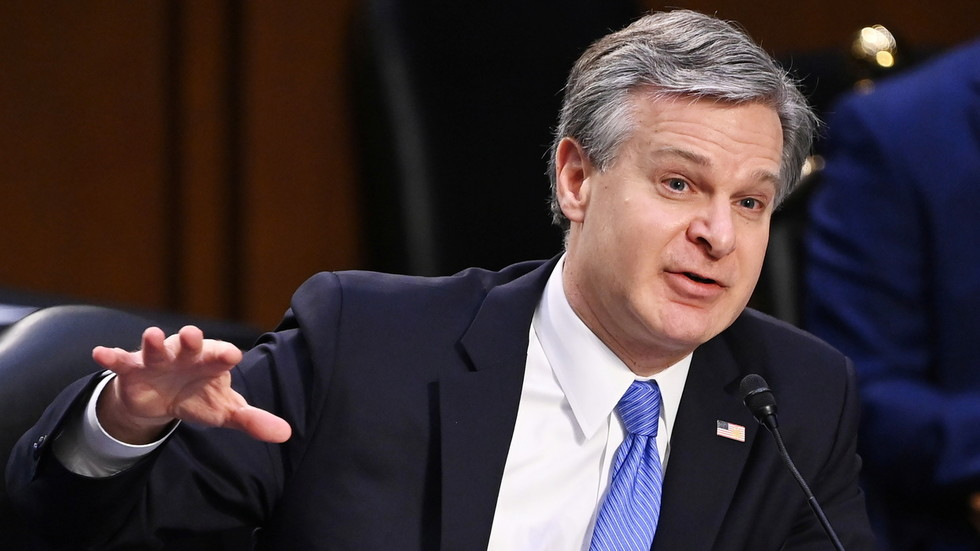 No fake Trump supporters or Antifa behind Capitol riot, FBI director testifies – adds agency must GROW amid domestic terror threat