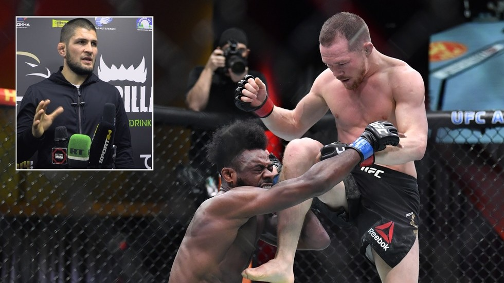 Khabib dragged into row over whether Yan was told BY HIS OWN CORNER to land illegal knee strike on Sterling at UFC 259