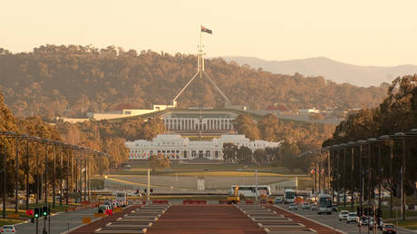 Old and New Parliament Houses, Canberra, Australia