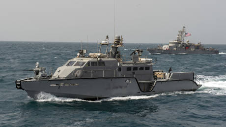Mark VI patrol boats (March 9, 2020 file photo) are among the 'lethal aid' the US is sending to Ukraine