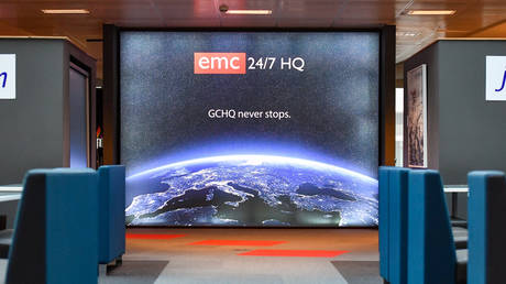 A staff area within Government Communications Headquarters, commonly known as GCHQ, the intelligence and security organisation responsible for providing signals intelligence and information assurance to the government and armed forces of the United Kingdom, based in Cheltenham