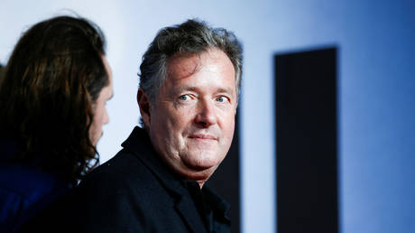 FILE PHOTO: TV presenter Piers Morgan attends the European premiere of 'Creed II', at the BFI IMAX in central London, Britain November 28, 2018.