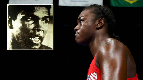 Boxing star Claressa Shields (right) has likened herself to Muhammad Ali © Action Images via Reuters   © Peter Cziborra / Reuters