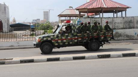 FILE PHOTO: Somali government soldiers © Abdirazak Hussein FARAH / AFP