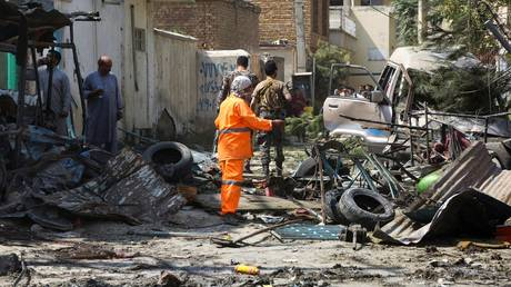 More than one-third of all terror deaths in 2020 occurred in Afghanistan. (FILE PHOTO) © AFP