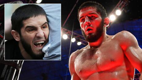 Could UFC star Islam Makhachev follow in Khabib Nurmagomedov's footsteps? © Christopher Pike / Reuters | © Per Haljestam / USA Today Sports via Reuters