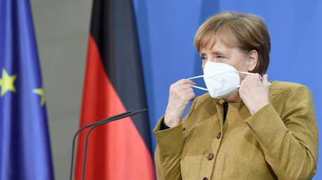 Angel Merkel's government has been rocked by corruption allegations