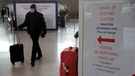France banned all but essential travel on January 31.  (FILE PHOTO)
