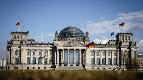 The Reichstag in Berlin, Germany on March 11, 2021 © Kay Nietfeld/dpa/GlobalLookPress.com