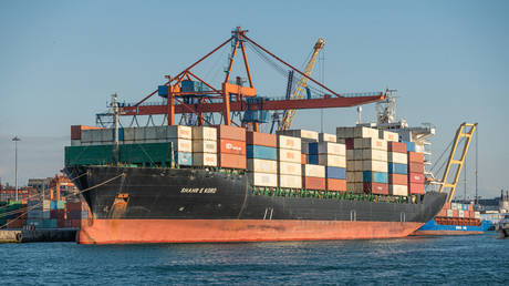 Iranian cargo ship, the Shahr-e Kord