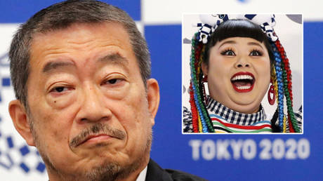 Tokyo Olympics 2021 chief Hiroshi Sasaki (left) and Naomi Watanabe © Toru Hanai Kyodo / Reuters | © Instagram / watanabenaomi703