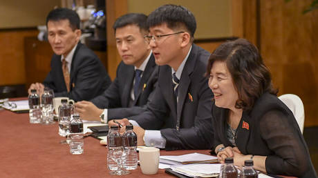 North Korea's first vice-minister of foreign affairs, Choe Son Hui (RIGHT) © Wikipedia
