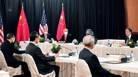 U.S.-China talks in Anchorage