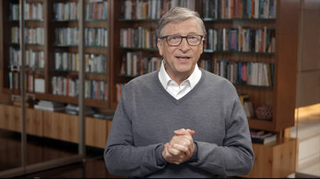 Bill Gates speaks during All In WA: A Concert For COVID-19 Relief on June 24, 2020 in Washington