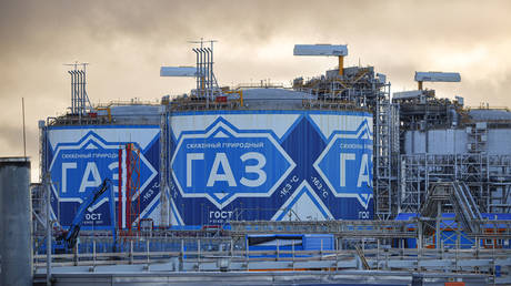 Yamal LNG plant in Russia