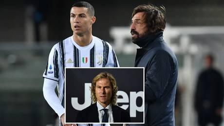 Ronaldo and Pirlo will both remain next season, says Nedved. © Reuters