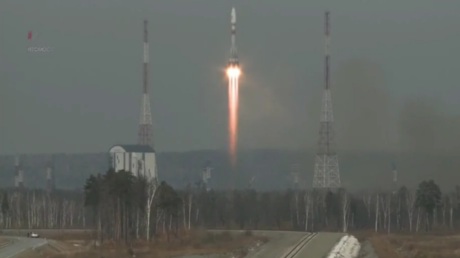 Ruptly's live feed, credit: Roscosmos
