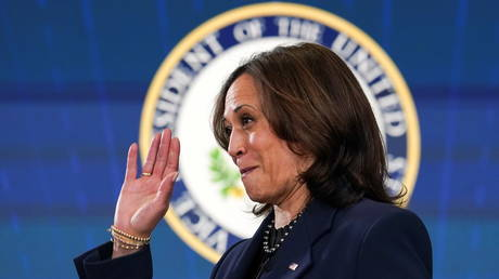 FILE PHOTO: US Vice President Kamala Harris at the White House in Washington, US, March 10, 2021