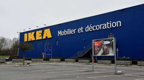 FILE PHOTO. An Ikea store is seen in in Lomme, northern France. © AFP / Francois Lo Presti