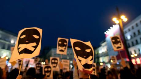FILE PHOTO. A rally against censorship. ©Juan Carlos Rojas / Global Look Press