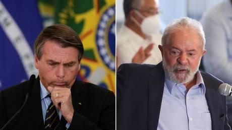 Jair Bolsonaro / Luiz Inacio Lula da Silva ©Reuters / Ueslei Marcelino / Amanda Perobelli