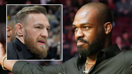 Jon Jones (right) has discussed Conor McGregor's (left) UFC paydays ahead of a potential title fight with Francis Ngannou © Brian Fluharty / USA Today Sports via Reuters | © Kirby Lee / USA Today Sports via Reuters