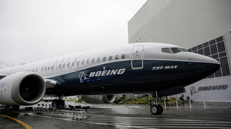 Boeing 737 MAX 7 jet