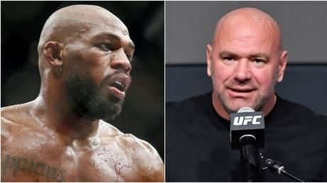 At loggerheads: Jon Jones and UFC boss Dana White. © USA Today Sports / Zuffa LLC