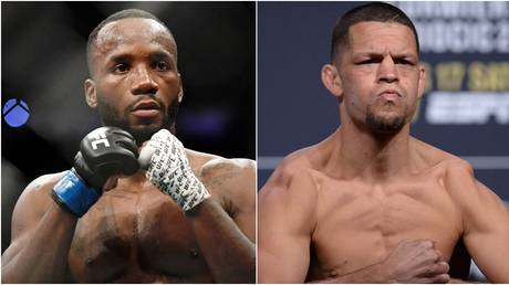 Fans reacted to the news Leon Edwards is set to face Nate Diaz. © USA Today Sports
