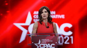 Fauci brushes off critique after South Dakota Governor Noem says Biden's Covid czar 'IS WRONG A LOT' to standing ovation at CPAC