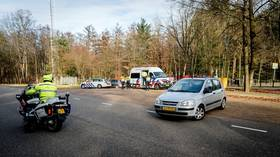 Suspected pipe bomb attack targets Dutch Covid-19 test site – police
