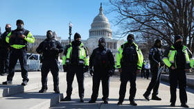 US police tighten security at Capitol on intel of 'militia plot' to breach complex on Thursday