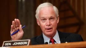 Republican senator forces clerks to read Biden's Covid bill for TEN HOURS, in last-ditch effort to block