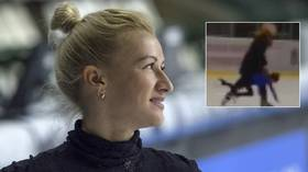 'No one has the right to beat a kid!' Russian Olympic champ Volosozhar lashes out at coach who threw young skater across the ice