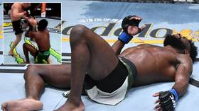 'He takes the title and an Oscar': Fans claim Sterling FAKED effects of illegal knee which cost Yan belt at UFC 259