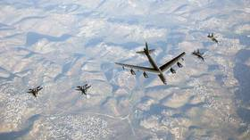 WATCH: Israeli jets escort American B-52 bombers in apparent 'show of force' to Iran