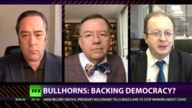 CrossTalk Bullhorns, QUARANTINE EDITION: Backing democracy?