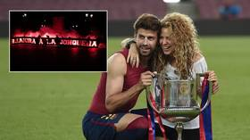 'Respect Shakira' trends on Twitter as 'prostitute banner' emerges before PSG play Barcelona
