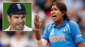 India cricket legend Jhulan Goswami shows her staying power – but comparison with England men's star Jimmy Anderson provokes anger
