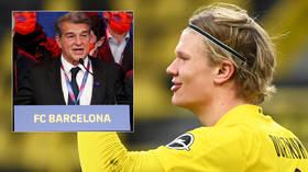 New Barcelona president Joan Laporta 'targeting Erling Haaland & David Alaba' in Camp Nou overhaul despite reported debt of $1BN