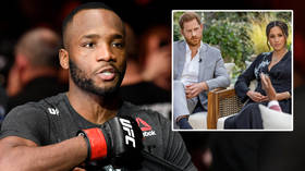 'Unacceptable & heartbreaking': British UFC superstar Leon Edwards has his say on Royal racism row after Harry & Meghan interview