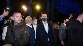 'I am humbled': Wild parties, light show & fireworks as tennis icon Novak Djokovic hails new record on streets of Belgrade (VIDEO)