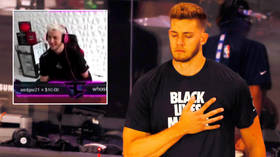 Miami Heat suspend  'deeply sorry' NBA star Meyers Leonard for using racial slur during video game live stream (VIDEO)