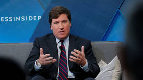 NYT journo rages over Tucker Carlson showing widely-available image of her after she claimed online attacks 'destroyed' her life
