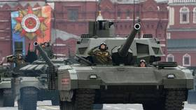 Roll on to Red Square! Russia set to showcase next-gen T-14 Armata battle tanks in military parade marking defeat of Nazi Germany