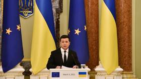 President Zelensky must BAN main opposition party, Western Ukrainian politicians insist branding political bloc 'internal enemy'