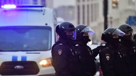 Police disrupt Moscow summit of banned pro-Western group linked to UK-based former-oligarch Khodorkovsky, making dozens of arrests