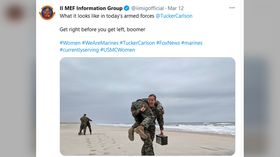 'Get right before you get left, boomer': Marines backtrack after jumping into Fox host Tucker Carlson's row with Pentagon