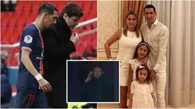 PSG star Di Maria rushes off pitch as home is RAIDED during match while family of teammate Marquinhos 'HELD HOSTAGE' on same night
